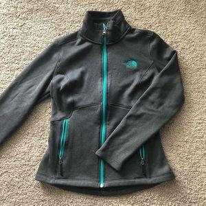 The North Face full zip sweatshirt jacket